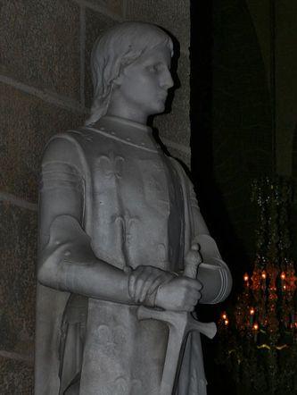 Statue de Ste Jeanne d'Arc