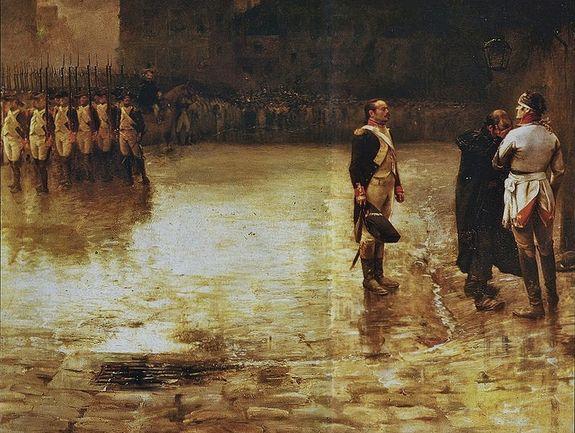 Julien Le Blant - Exécution du général de Charette