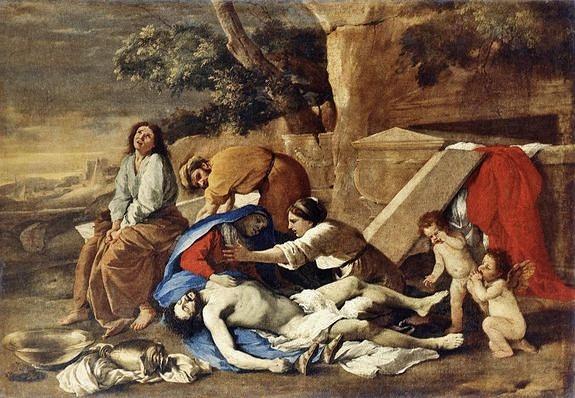 Lamentation sur le Christ mort - Nicolas Poussin - 1628