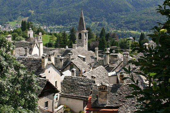 Craveggia dans  la vallée de Viggezzo