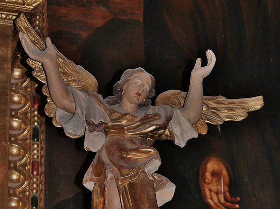 Grignan - détail du maître-autel