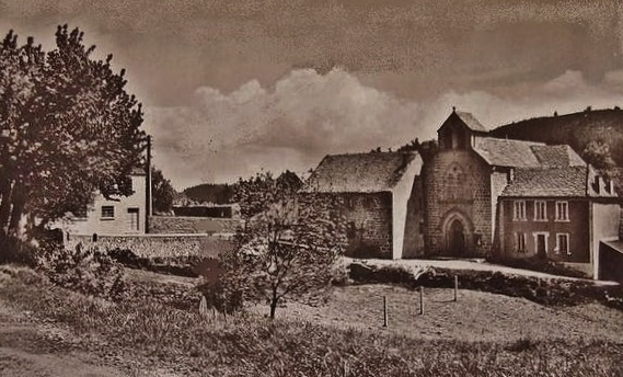 Eglise de St-Andéol de F. photo ancienne