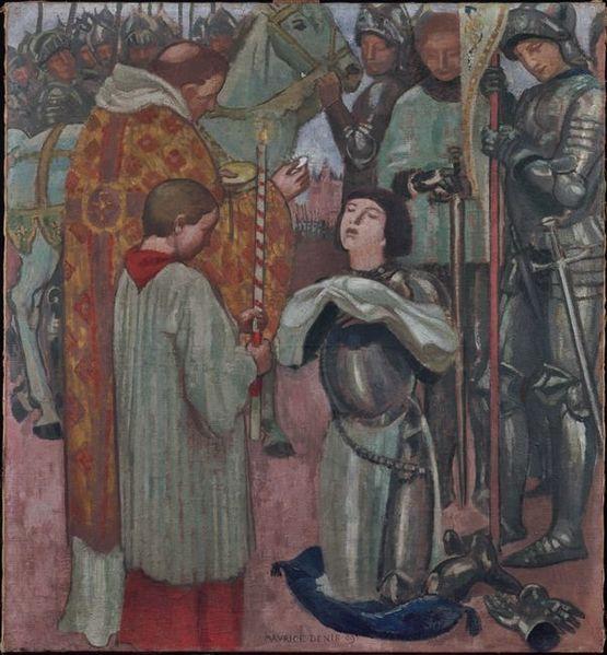 Maurice Denis - Communion de Jeanne d'Arc avant le combat