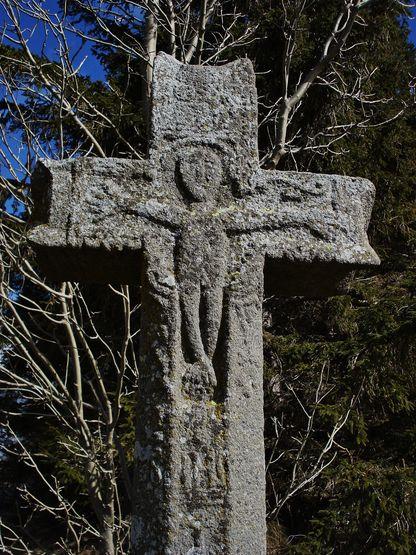 St-Andéol de F. Croix de l'ancien cimetière