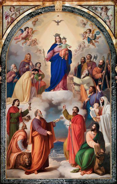 Tableau de Marie Auxiliatrice - Turin