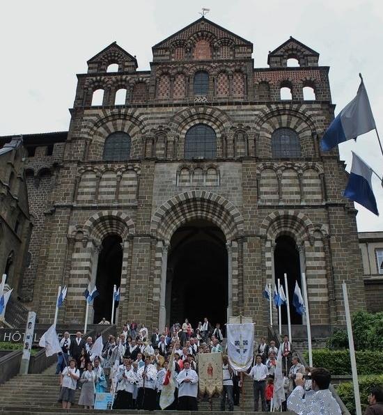 Pèlerinage Légitimiste le Puy-en-Velay 4 juin 2016