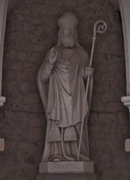Statue de Saint Martial