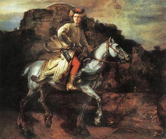 Rembrant - le cavalier polonais
