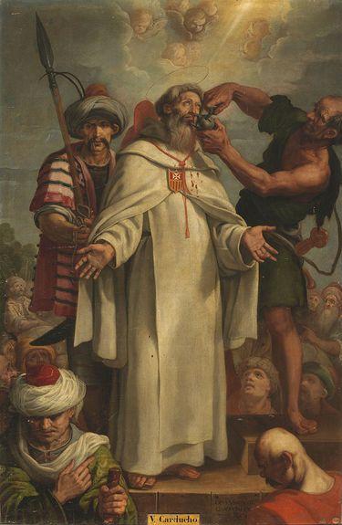 St Raymond Nonnat - tableau de Vicente Carducho - Musée du Prado.