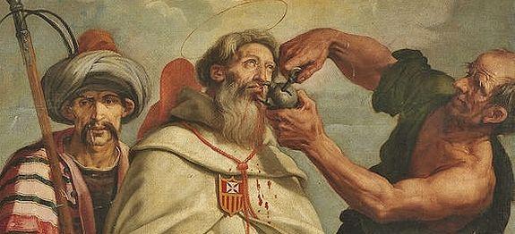St Raymond Nonnat - Vicente Carducho - détail
