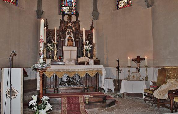 Eglise de Ceyssac Pâques 2016