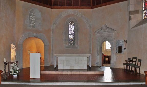 Sanctuaire de la chapelle du Monastère Sainte-Claire