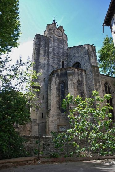 Avignon, vestiges de l'église des Cordeliers - état actuel
