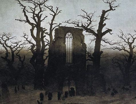 Gaspard-David Friedrich détail