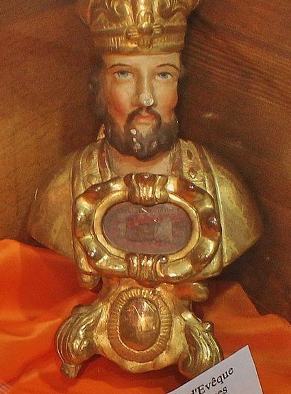 Reliquaire de Saint Georges - soeurs de l'Enfant Jésus le Puy