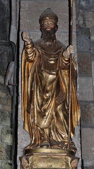 Statue de Saint Georges - église de Saint-Paulien