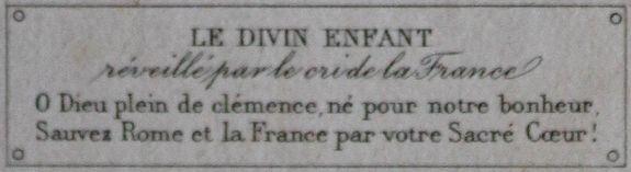 cri de la France détail 1