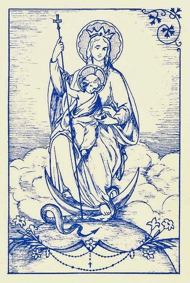Vierge séraphique