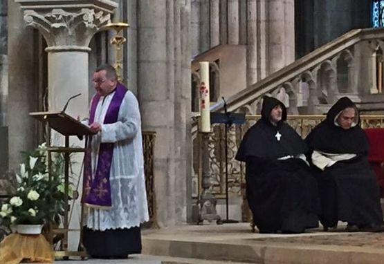 Abbé Michel Viot - basilique de Saint-Denys 21 janvier 2017
