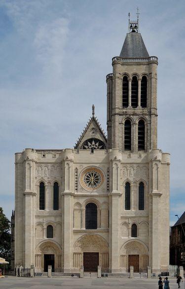 Basilique de Saint-Denys façade (état actuel)
