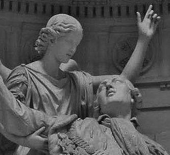 Bosio statue de Louis XVI à la chapelle expiatoire - détail 2
