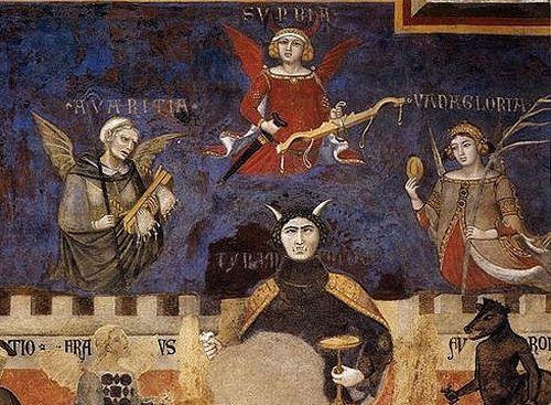 Ambrogio Lorenzetti fresque du mauvais gouvernement