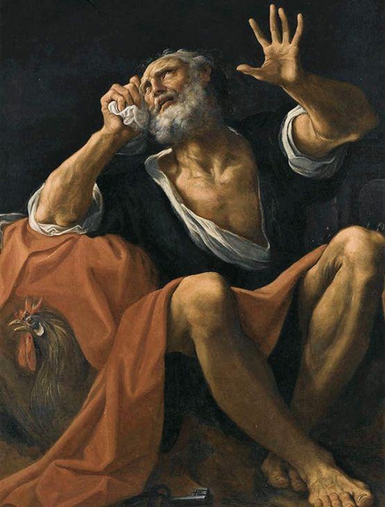 Lodovico Carracci - St Pierre pénitent - 1613