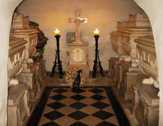 Crypte du couvent de la Castagnavizza
