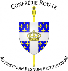 armoiries confrérie royale