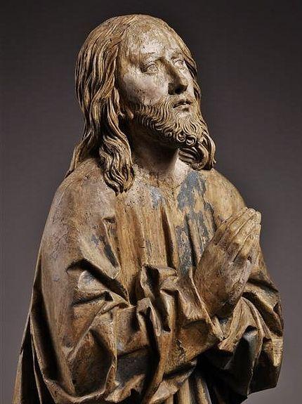 Le Christ en prière - détail