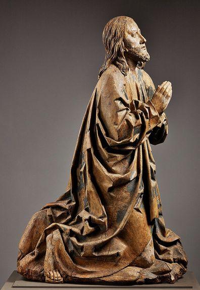 Le Christ en prière - vers 1514 - attribué à Niklaus Weckmann