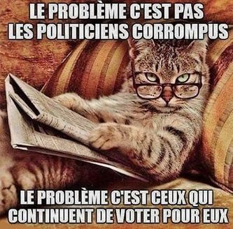 Politiciens corrompus