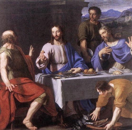 Philippe de Champaigne - les disciples d'Emmaüs
