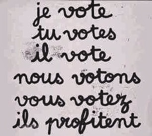 Voter - conjugaison