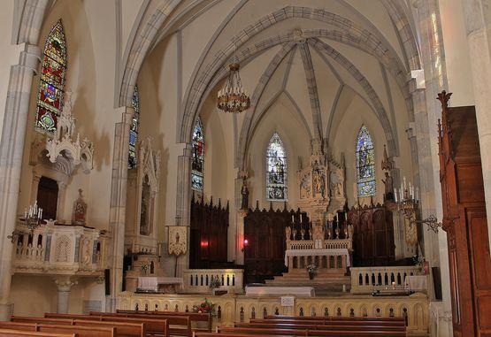 Fresneau intérieur du grand sanctuaire