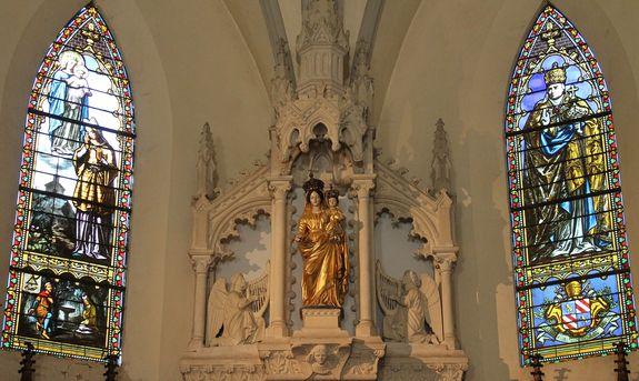 Fresneau la Vierge couronnée