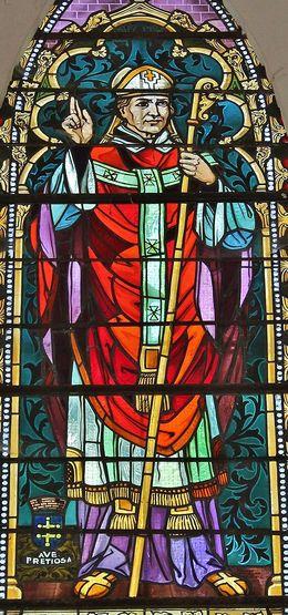 Fresneau vitrail d'Adhémar de Monteil