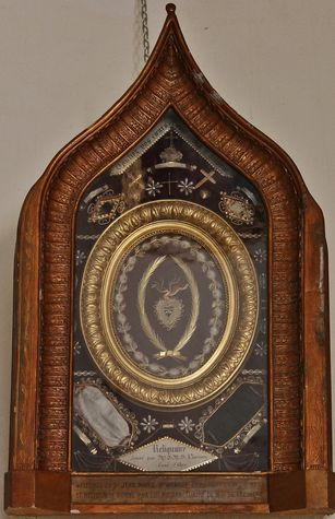 Fresneau reliques du Saint Curé d'Ars