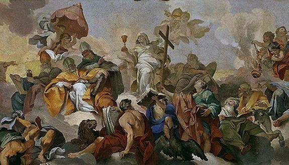 Triomphe de la foi Vincenzo Meucci - détail)