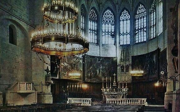 Cathédrale de Viviers - sanctuaire