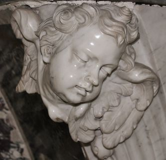 angelot du maître-autel de la cathédrale de Viviers