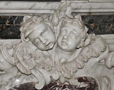 Putti - maître-autel de la cathédrale de Viviers