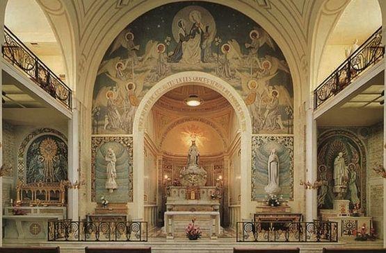 autel St Vincent -Chapelle-rue-du-Bac
