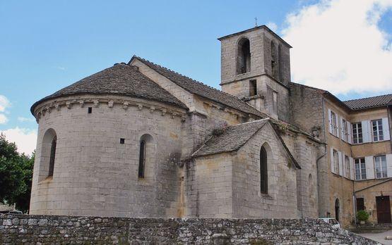 Eglise de Chambonas extérieur
