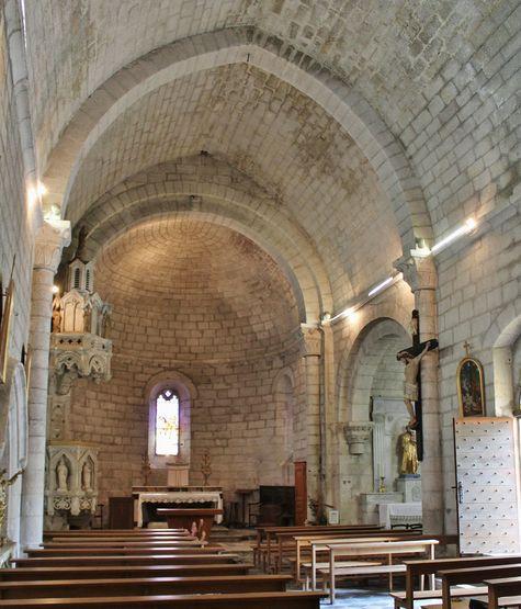 Eglise de Chambonas intérieur