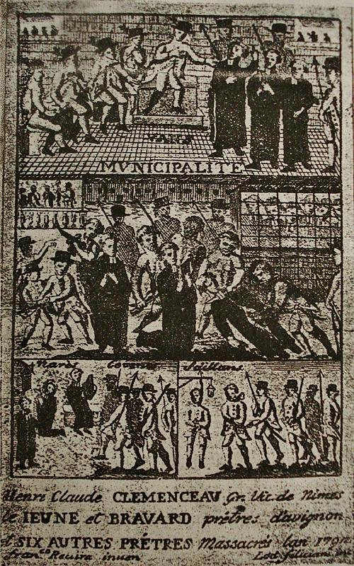 Massacre des prêtres aux Vans 12-14 juillet 1792