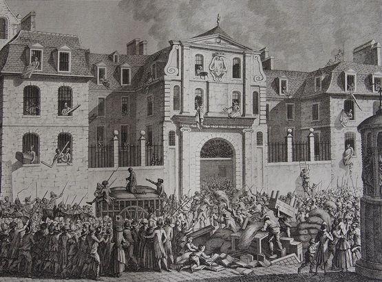 pillage de la maison Saint-Lazare le 13 juillet 1789