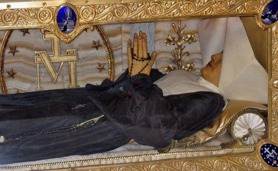 Sainte Catherine Labouré - corps incorrompu