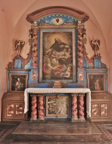 Chapelle de Sales : le retable