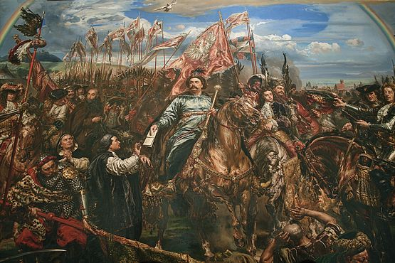 12 sep 1683 Victoire de Jean III Sobiesky à Vienne - Jan Mateiuko - Salle Sobiesky Vatican